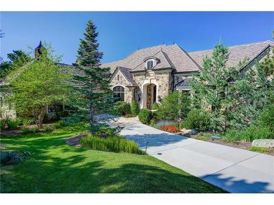 Castle Rock CO Single Family Home Active: $4,550,000