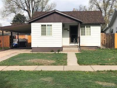 Single Family Home Active: 2356 South Franklin Street