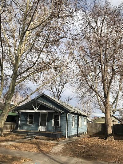 Denver Single Family Home Active: 4746 Pennsylvania Street