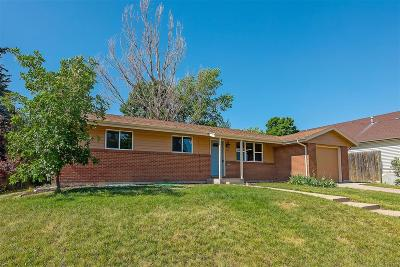 Northglenn Single Family Home Active: 1262 West 103rd Avenue