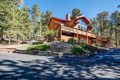 Woodland Park Single Family Home Active: 1260 Ponderosa Way