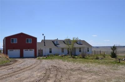 Deer Trail CO Single Family Home Under Contract: $459,000