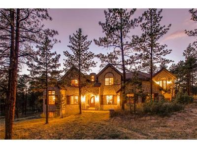 Larkspur CO Single Family Home Active: $1,795,000