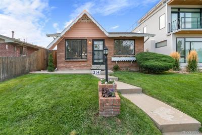 Denver Single Family Home Active: 2141 King Street