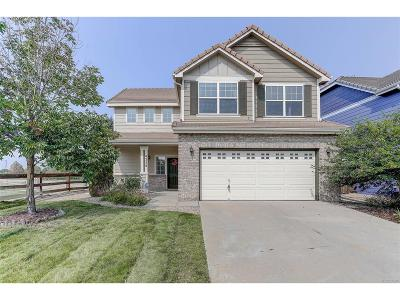 Castle Rock Single Family Home Under Contract: 4358 Beautiful Circle