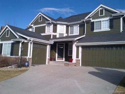 Parker CO Single Family Home Under Contract: $640,000