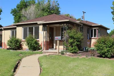 Denver Single Family Home Active: 3500 Niagara Street