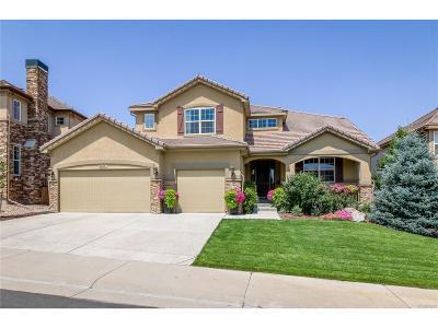 Castle Rock Single Family Home Under Contract: 6605 Esmeralda Drive