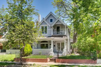 Denver Single Family Home Under Contract: 568 South Pearl Street