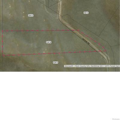 Hartsel CO Residential Lots & Land Active: $14,500
