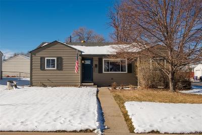 Denver Single Family Home Active: 1333 South Xavier Street