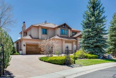 Castle Rock Single Family Home Active: 2137 Kahala Circle
