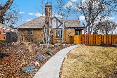 Denver Single Family Home Active: 2700 Wolff Street