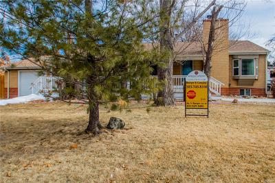 Arvada Single Family Home Under Contract: 6200 Lamar Street