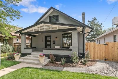 Denver Single Family Home Active: 1344 South Lincoln Street
