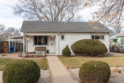 Aurora Single Family Home Active: 2357 Newark Street