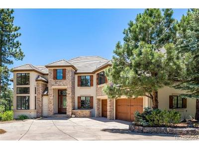 Castle Pines Single Family Home Active: 1356 Woodmont Way