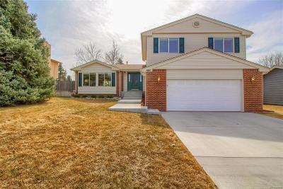 Highlands Ranch Single Family Home Active: 560 Prairie Ridge Road