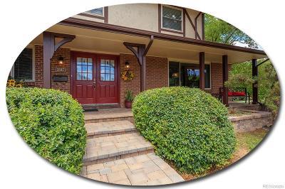 Centennial Single Family Home Active: 3597 East Davies Avenue