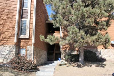 Aurora Condo/Townhouse Under Contract: 4294 South Salida Way #15