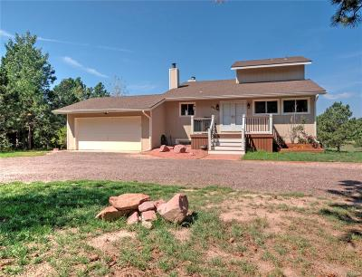 Colorado Springs Single Family Home Active: 18350 Woodhaven Drive