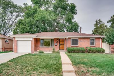 Lakewood CO Single Family Home Active: $389,500