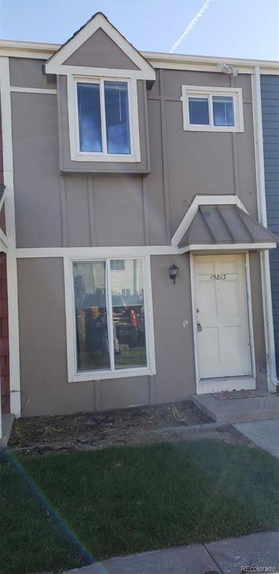 Aurora Condo/Townhouse Active: 15813 East 13th Place