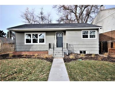 Englewood Single Family Home Active: 4391 South Acoma Street