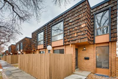 Arvada Condo/Townhouse Under Contract: 6400 Wright Street