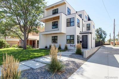 Denver Single Family Home Active: 3424 West 18th Avenue