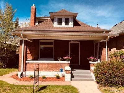 Denver Single Family Home Active: 467 South Logan Street