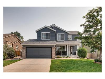 Castle Rock Single Family Home Under Contract: 2296 Beacham Drive