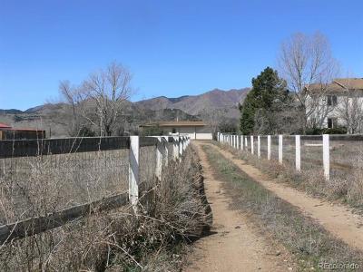 Longmont Single Family Home Active: 3800 Plateau Road