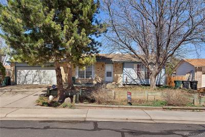 Thornton Single Family Home Under Contract: 4465 East 93rd Drive
