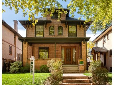 Denver Single Family Home Active: 1315 Milwaukee Street