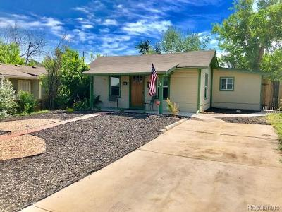 Colfax Ave, East Colfax Single Family Home Active: 1256 Uinta Street