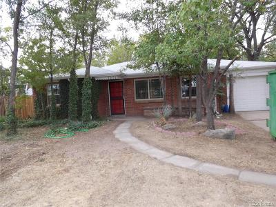 Wheat Ridge Single Family Home Active: 7620 West 47th Avenue
