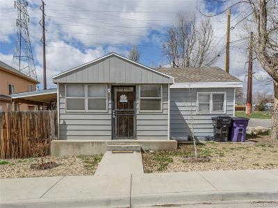Denver Single Family Home Under Contract: 1500 West Louisiana Avenue