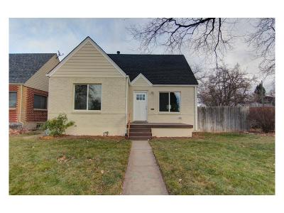 Denver Single Family Home Active: 1400 Ivanhoe Street