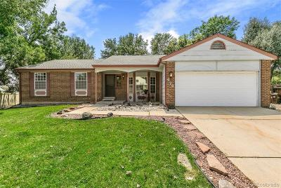 Boulder County Single Family Home Active: 474 West Griffith Street