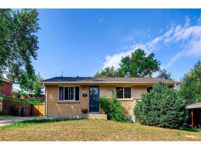 Arvada Single Family Home Active: 5615 Jellison Street