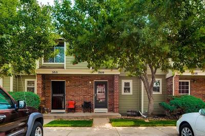 Denver Condo/Townhouse Under Contract: 7476 East Arkansas Avenue #3809