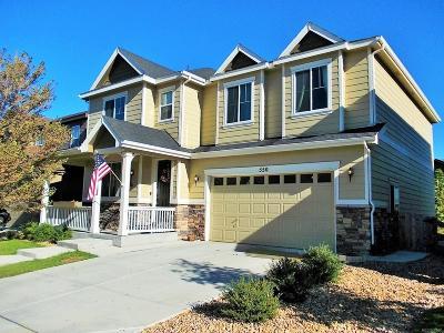 Erie Single Family Home Active: 550 Gallegos Circle