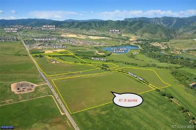 Littleton Residential Lots & Land Active: Rampart Range Road