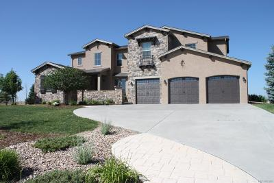 Castle Rock CO Single Family Home Under Contract: $819,900