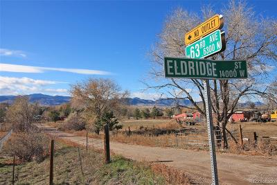 Arvada Residential Lots & Land Under Contract: 14075 West 63rd Avenue