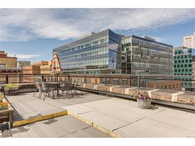 Denver Condo/Townhouse Active: 1600 Wynkoop Street #5A & #5B