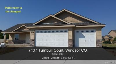 Windsor Single Family Home Active: 7407 Turnbull Court
