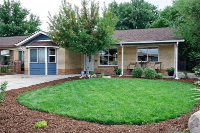 Denver Single Family Home Active: 5520 East Thrill Place