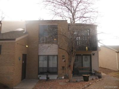 Denver Condo/Townhouse Active: 3550 South Harlan Street #292